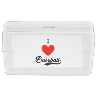 I ♥ Baseball Chest Cooler