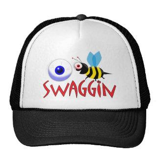I BE SWAGGIN TRUCKER HAT