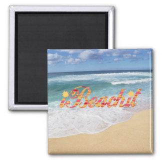 i Beach it Magnet