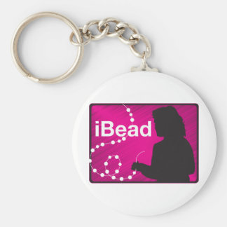 I Bead Keychain