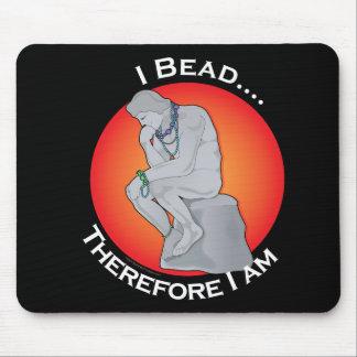 I Bead Mouse Pad