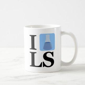 I Beaker LS Classic White Coffee Mug