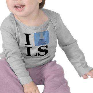 I Beaker LS T-shirts