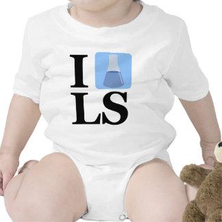 I Beaker LS Tshirts