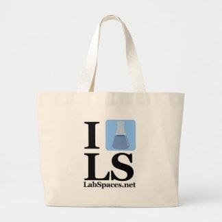 I beaker LS w/ Domain Tote Bags