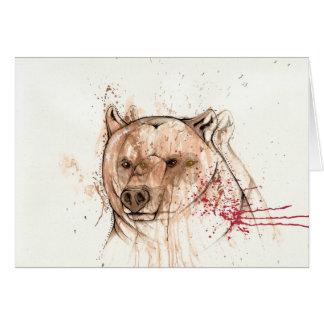 I bear your ghost card