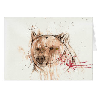 I bear your ghost greeting card