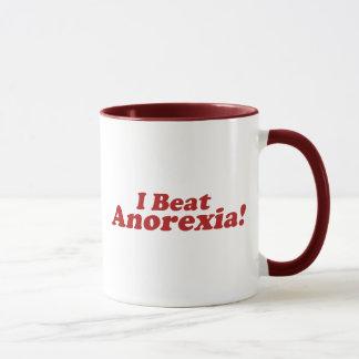 I Beat Anorexia! Mug