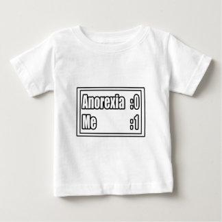 I Beat Anorexia (Scoreboard) Baby T-Shirt