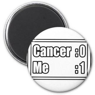 I Beat Cancer (Scoreboard) Fridge Magnets