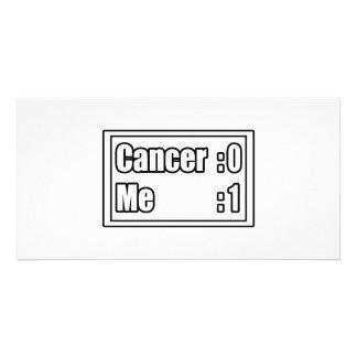 I Beat Cancer (Scoreboard) Photo Card
