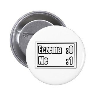 I Beat Eczema (Scoreboard) Button