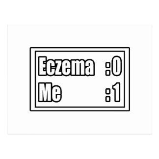 I Beat Eczema (Scoreboard) Postcard