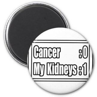 I Beat Kidney Cancer (Scoreboard) Fridge Magnets