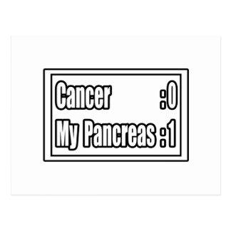 I Beat Pancreatic Cancer (Scoreboard) Postcard