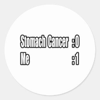 I Beat Stomach Cancer (Scoreboard) Classic Round Sticker