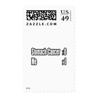 I Beat Stomach Cancer (Scoreboard) Stamp