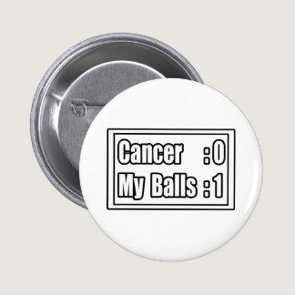 I Beat Testicular Cancer (Scoreboard) Pinback Button