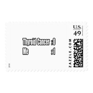 I Beat Thyroid Cancer (Scoreboard) Postage Stamps