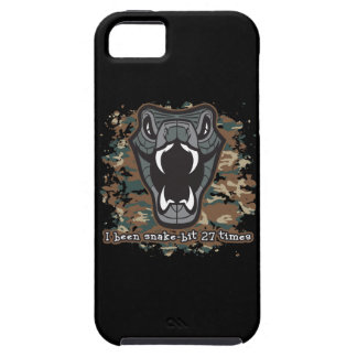 I Been Snake Bit 27 Times iPhone 5 Cases