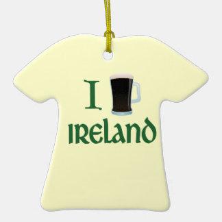 I Beer Ireland Christmas Tree Ornament