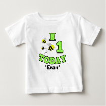 I Bees One Today First Birthday Boy Infant Shirt