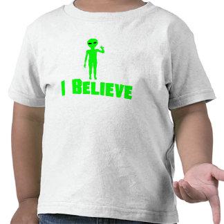 I Believe Alien T Shirts