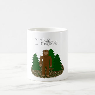 I Believe - Bigfoot Coffee Mug