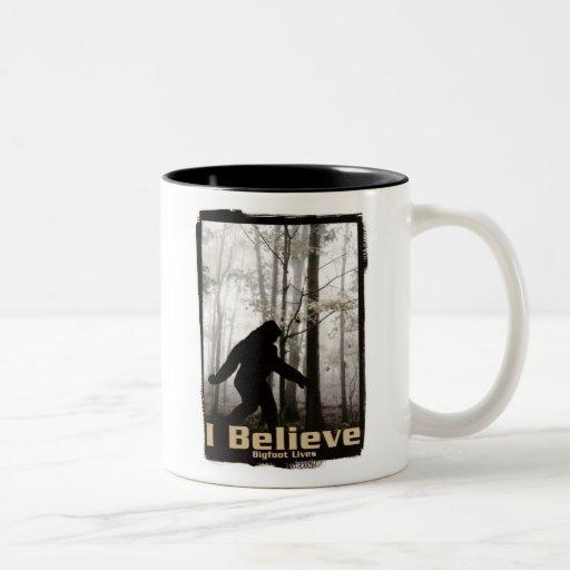 I Believe Bigfoot Lives Mug