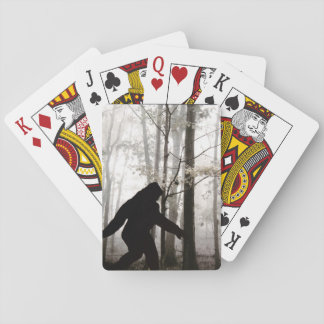 I Believe Bigfoot Lives Playing Cards