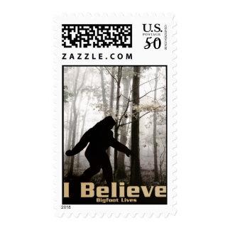 I Believe Bigfoot Lives Postage