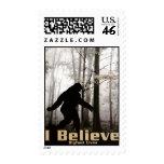 I Believe Bigfoot Lives Stamps