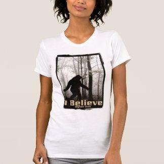 I Believe Bigfoot Lives T Shirt