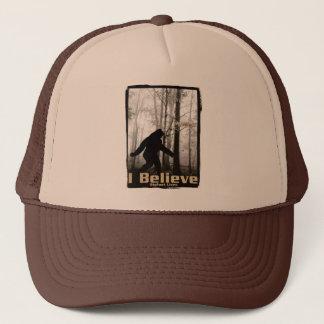 I Believe Bigfoot Lives Trucker Hat