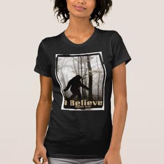 I Believe Bigfoot Lives Tee Shirts