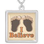 I Believe Bigfoot Necklace