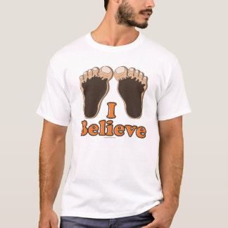 I Believe Bigfoot Tee T shirt