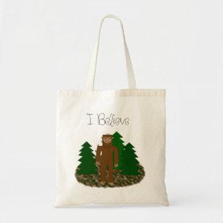 I Believe - Bigfoot Tote Bag