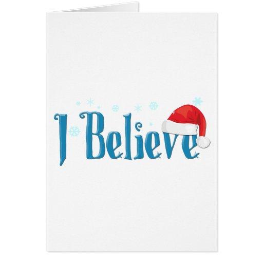 I Believe Card