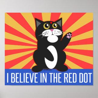 I Believe Cat Poster