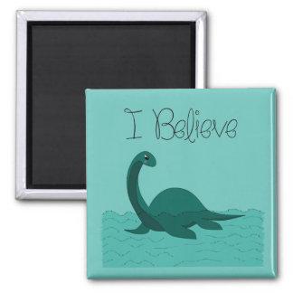 I Believe - change color 2 Inch Square Magnet