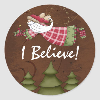 I Believe!  Christmas Holiday stickers