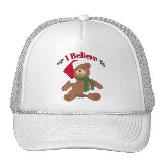 I Believe! Christmas Teddy Bear Trucker Hat