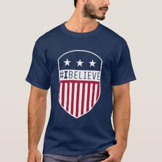 I Believe Crest Mens T-Shirt