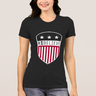 I Believe Crest Women's T-Shirt