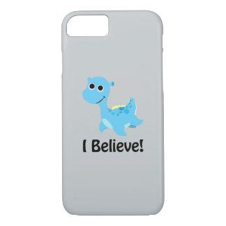 I Believe! Cute Blue Nessie iPhone 8/7 Case