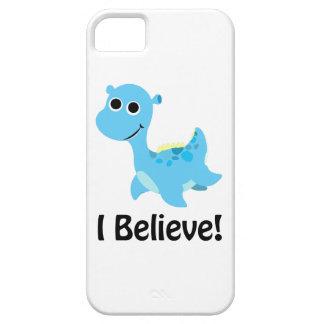 I Believe! Cute Blue Nessie iPhone SE/5/5s Case