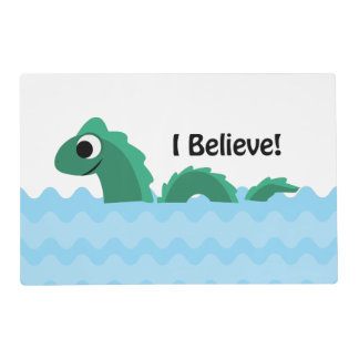 I Believe! Cute Champ Placemat