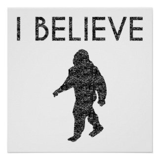 I Believe (Distressed) Poster