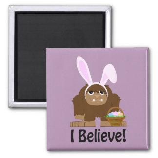 I Believe! Easter Bigfoot Magnet